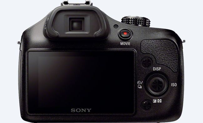 Sony ILCE3000 a3000 back view